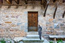 Vieille Porte Médiévale En B...