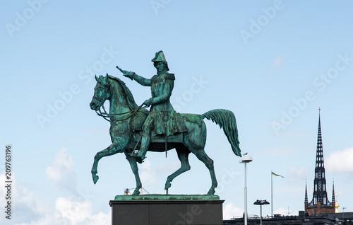 Photo  The Swedish capital Stockholm..