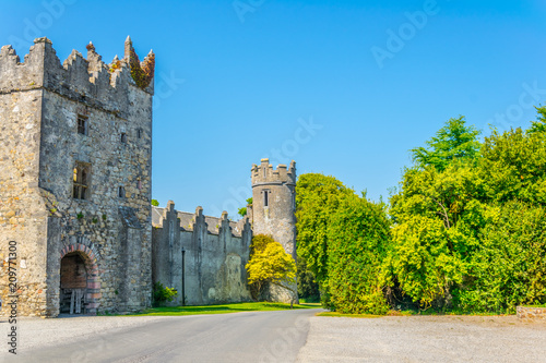 Howth Castle, Ireland Wallpaper Mural