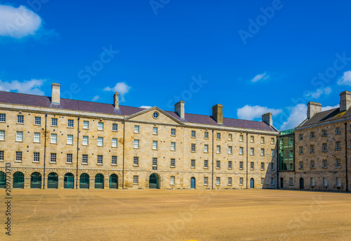 Photo National museum of Ireland situated in the former Collins barracks, Dublin