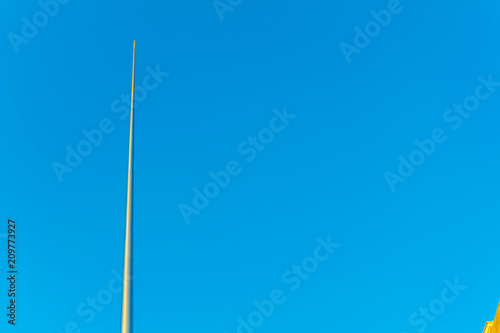 Foto auf Gartenposter Nordlicht the spire monument in the central Dublin, Ireland