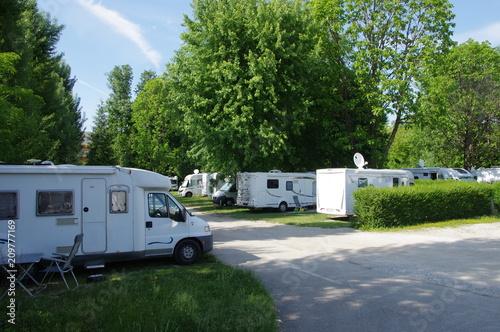 Fotografia aire de camping car