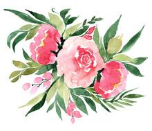Flowers Watercolor Illustratio...