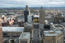 View Of The City Of Buffalo Ne...