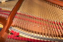 Frame Of A Grand Piano - Selective Focus