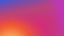 Colorful Vector Modern Fresh Gradient Background.