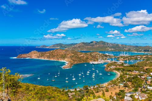 Cadres-photo bureau Caraibes Antigua Yacht Club from Above