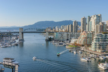 Burrard Bridge And Downtown Va...