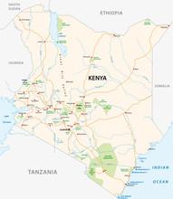 Kenya Road And National Park V...