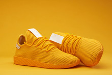 Yellow Tennis Shoes