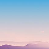 Wzgórze krajobraz z Jasnym niebieskim niebem - 209859715