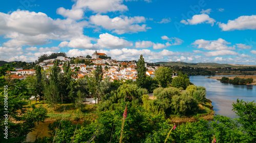 Landscape of Constancia. Santarem, Ribatejo, Portugal Tablou Canvas