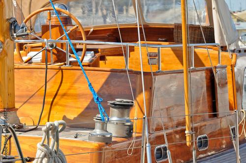 Keuken foto achterwand Schip sailboat