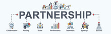 Partnership Banner Web Icon Fo...