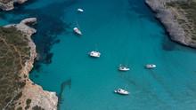 Luxury Yacht On The Coast Of M...