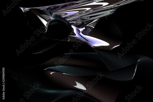 Fotografie, Obraz  abstract fluid
