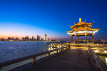 Panoramic Suzhou City Skyline