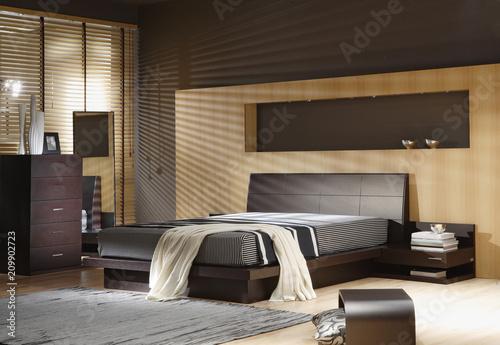 Photo  Modern bedroom Interior