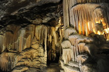 Underground View Of Stalactite...