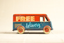 Free Delivery Vintage Toy Truc...