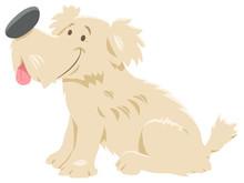 Cute Shaggy Dog Cartoon Charac...