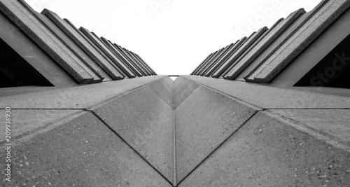 symétrie architecturale Fototapeta