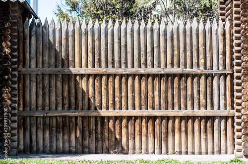 Photo  Stockade wall