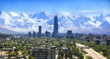 Santiago Chile Cityscape