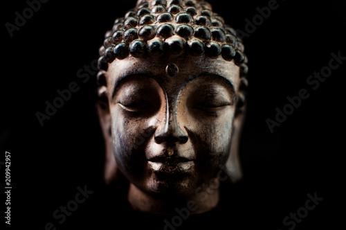 Fotografie, Obraz  buddha head decoration