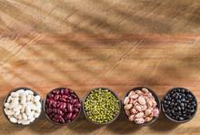 Variety Of Grains - Pinto, Bla...