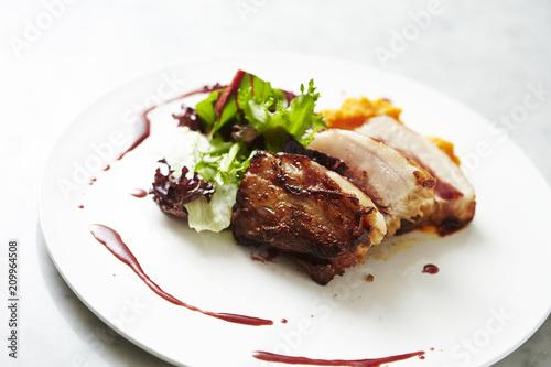 Papiers peints Steakhouse Roasted pork