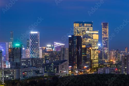 Foto op Canvas Texas Shenzhen Houhai skyline