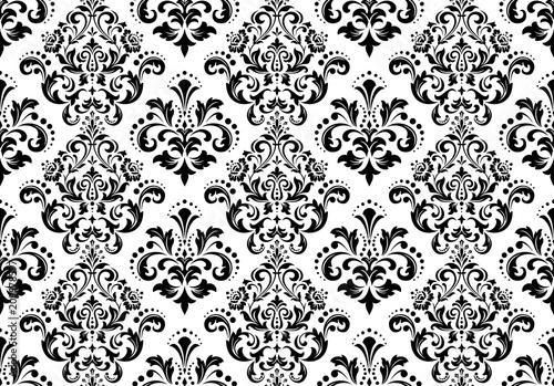 kwiatowy-wzor-tapeta-w-stylu-barokowym-bezszwowe-tlo-wektor-bialy-i-czarny-ornament-na-tkanine-tapete-opakowanie-ozdobny-ornament