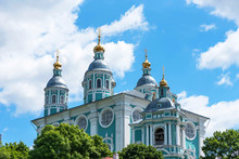 The Cathedral Church Of The Assumption In Smolensk, Russia.