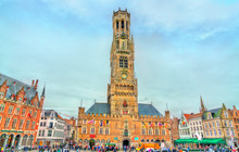 The Belfry Of Bruges, A Mediev...