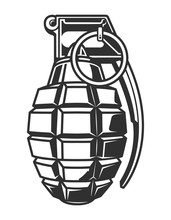 Vintage Military Hand Grenade ...