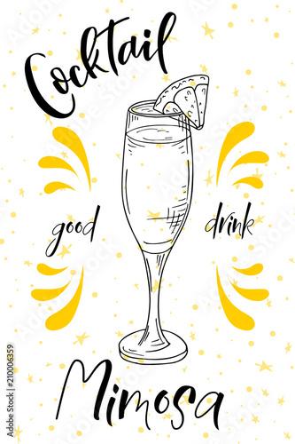 koktajl-alkoholowy-mimoza-plakat-na-impreze-letnia