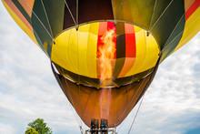 Hot Air Balloon Burner Flame