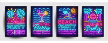 Summer Party Posters Collectio...