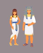 Egyptian Costume Vector