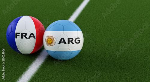 Cuadros en Lienzo Argentina vs