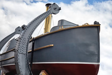 Boat With Steam Engine Aboard ...