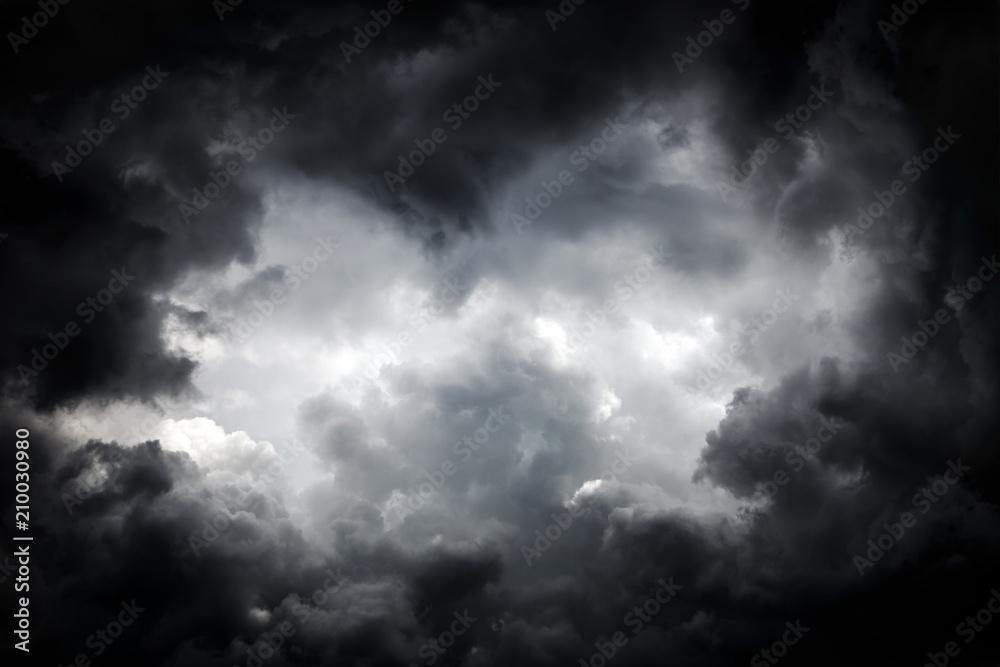Fototapety, obrazy: Storm Clouds Background