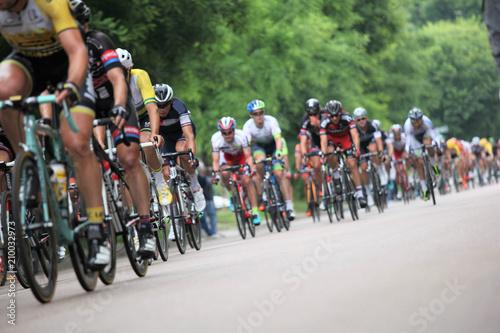 Aluminium Prints Cycling Corsa cilcistica