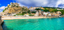 Italian Summer Holidays -Pizzo Calabro - Beautiful Coastal Town In Calabria  Italy