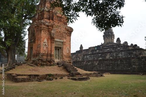 Foto op Aluminium Oude gebouw angkor ancient temple cambodia