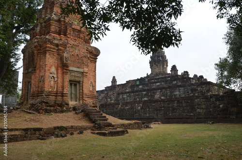 Tuinposter Oude gebouw angkor ancient temple cambodia