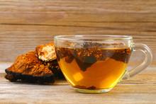 Healing Tea From Birch Mushroo...