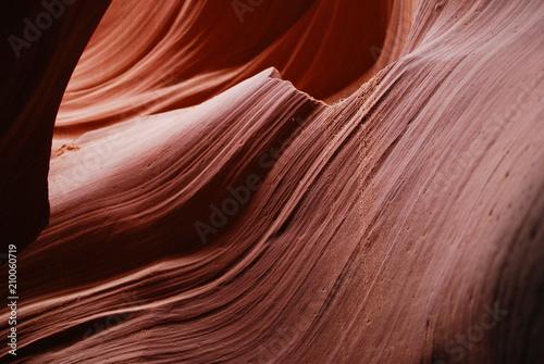 Tuinposter Centraal-Amerika Landen Bright slot Antelope Canyon in Navajo reservation