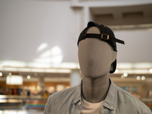 Male Mannequin With Backwards ...